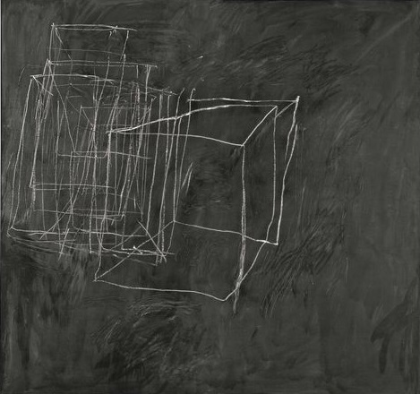 1 Cy Twombly, Night Watch, 1966, peinture-industrielle-crayon-a-la